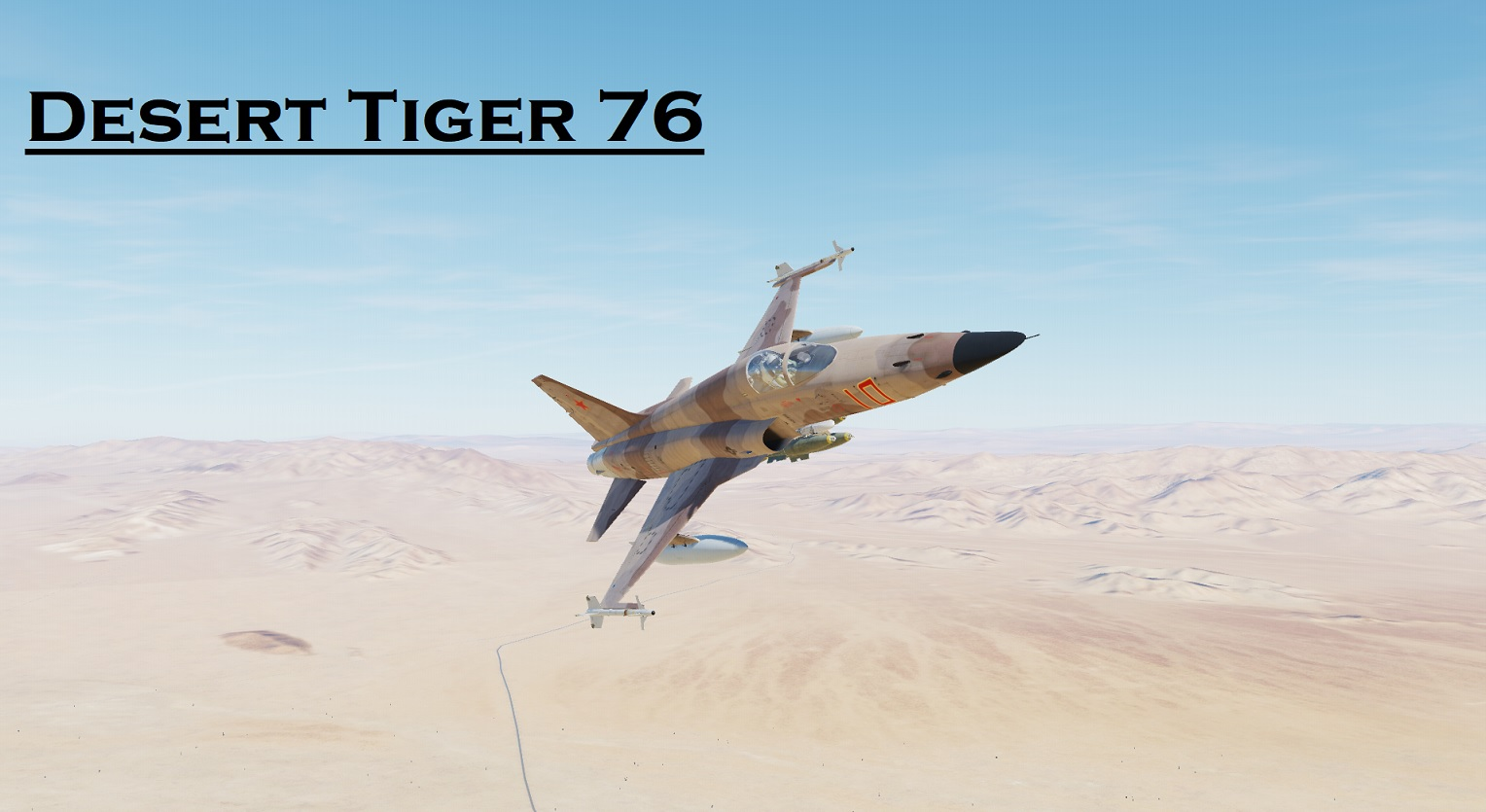 Desert Tiger 76 using Mbot Dynamic Campaign Engine