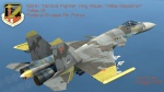 Yellow 13 - 156th Tactical Fighter Wing Aquila -  Livery for Su-33 (V3.0)