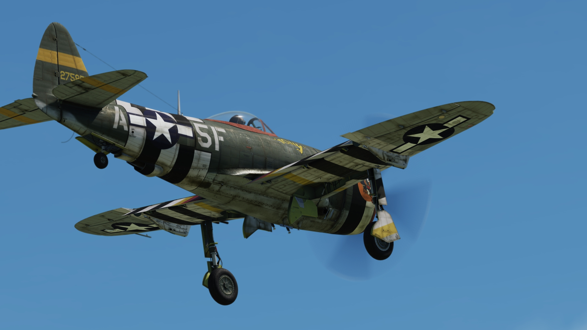 P-47D TONY 5th Emergency Rescue Squadron