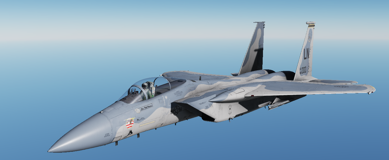 F-15 Recolored Skins