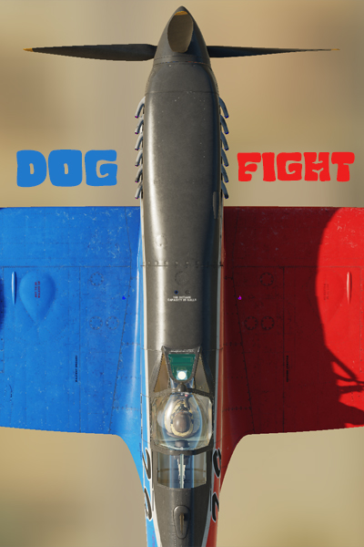 Dogfight Spitfires Red / Blue