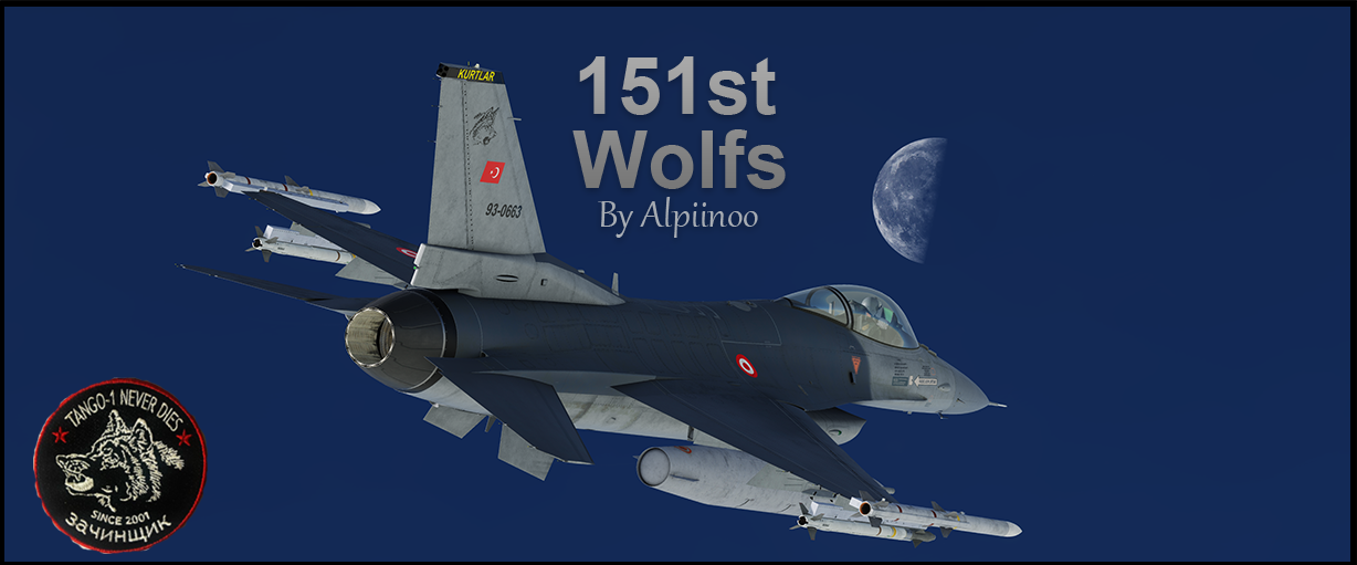 Turkish Air Force (TurAF) F-16C - 151st Wolfs (NEW UPDATE)