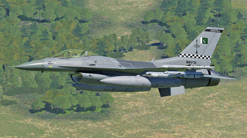 F16C Pakistan AirForce No.11 Squadron Livery V1.0