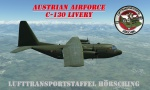 Austrian Airforce Hercules Livery