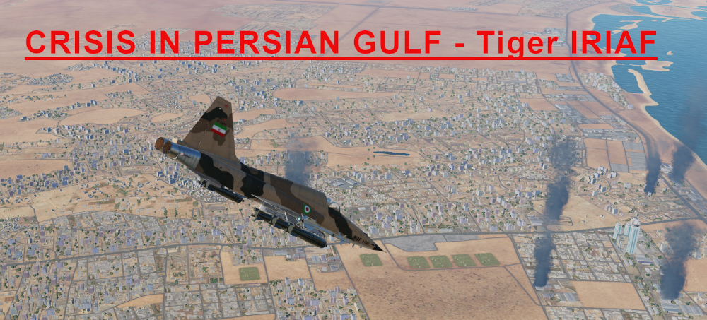 Crisis in Persian Gulf IRIAF Tiger Light version using Mbot Dynamic Campaign Engine