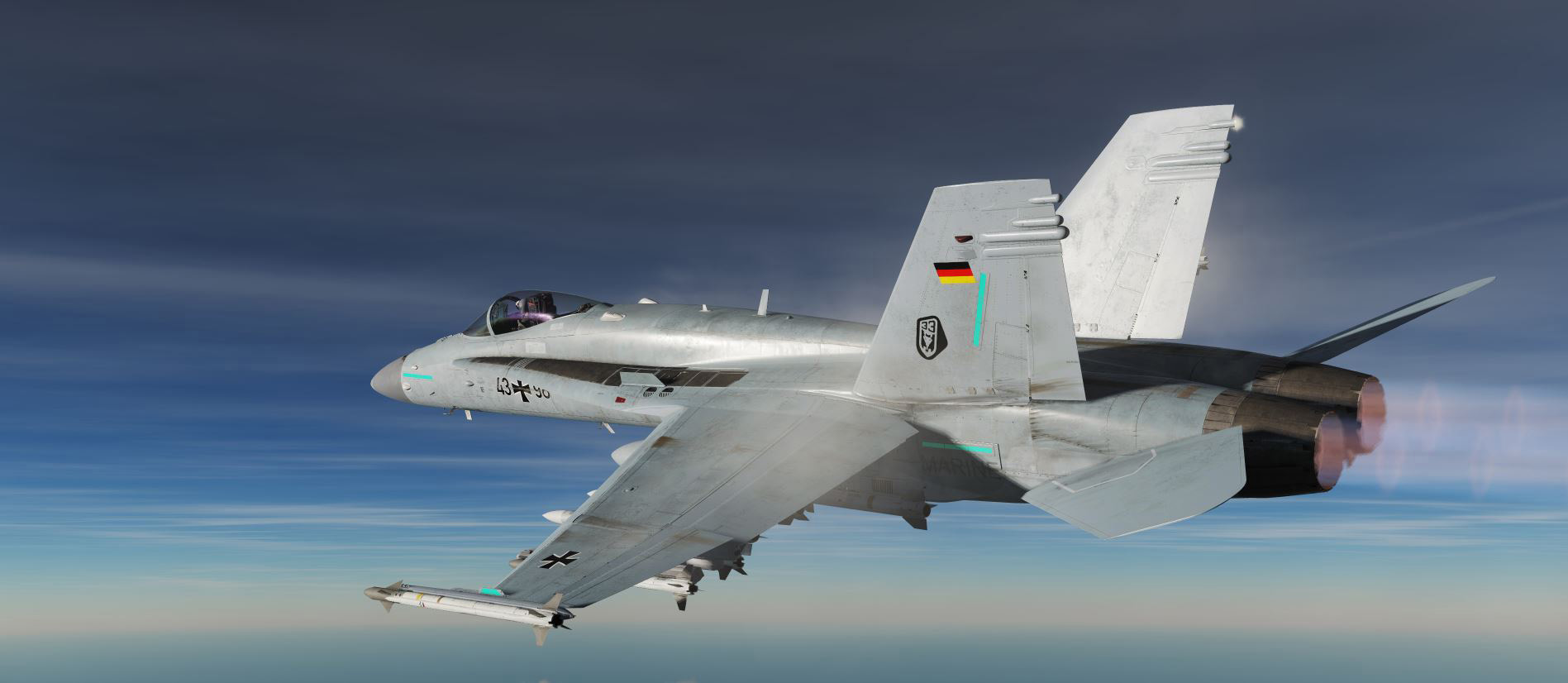 Fictional German F/A-18C