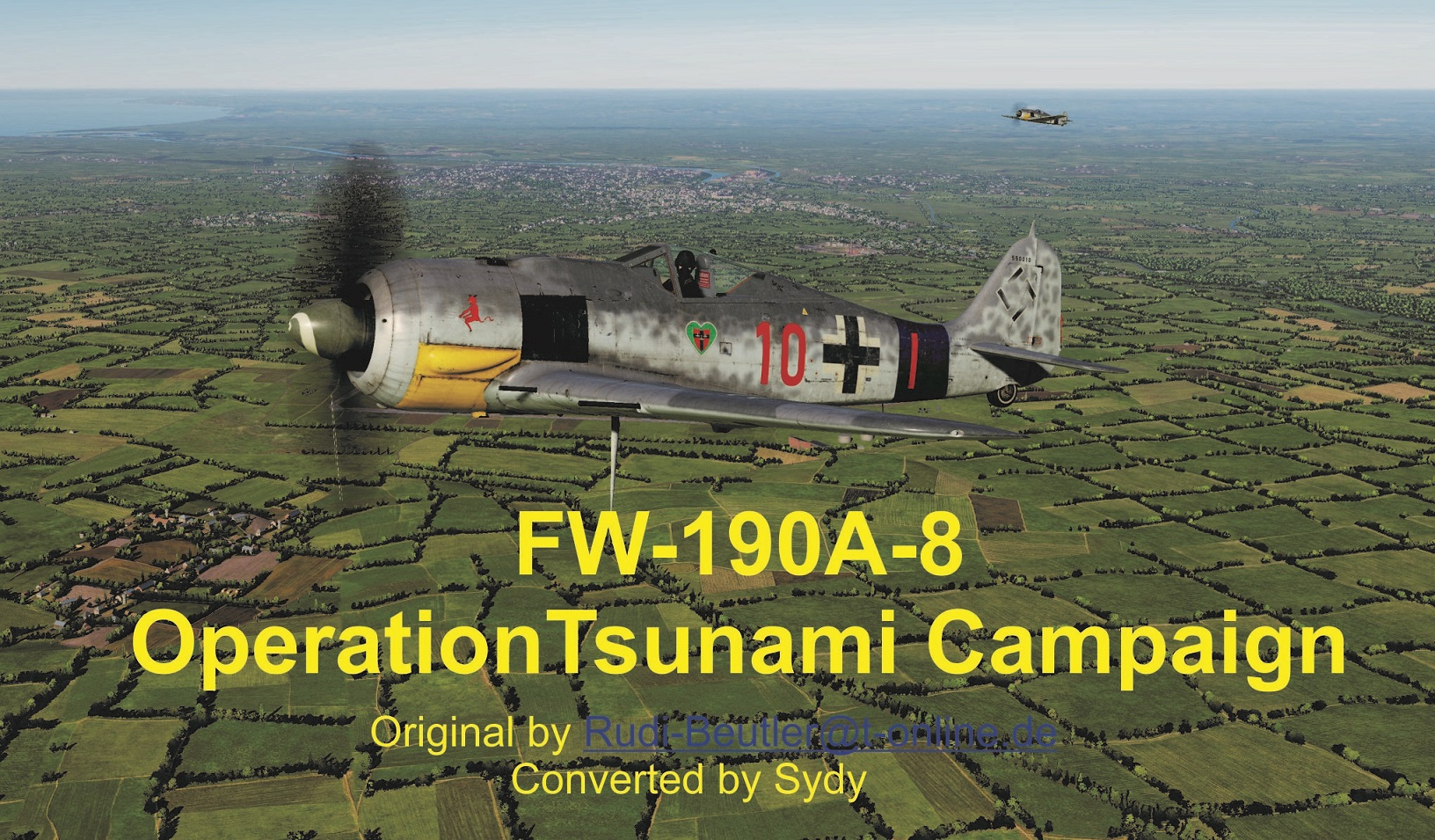 Fw-190 A-8 Operation Tsunami