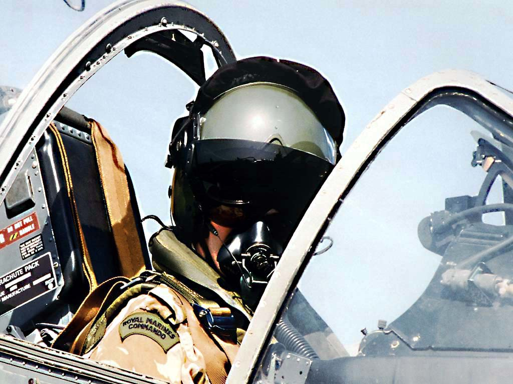 Royal Marines Commando Pilot FA2