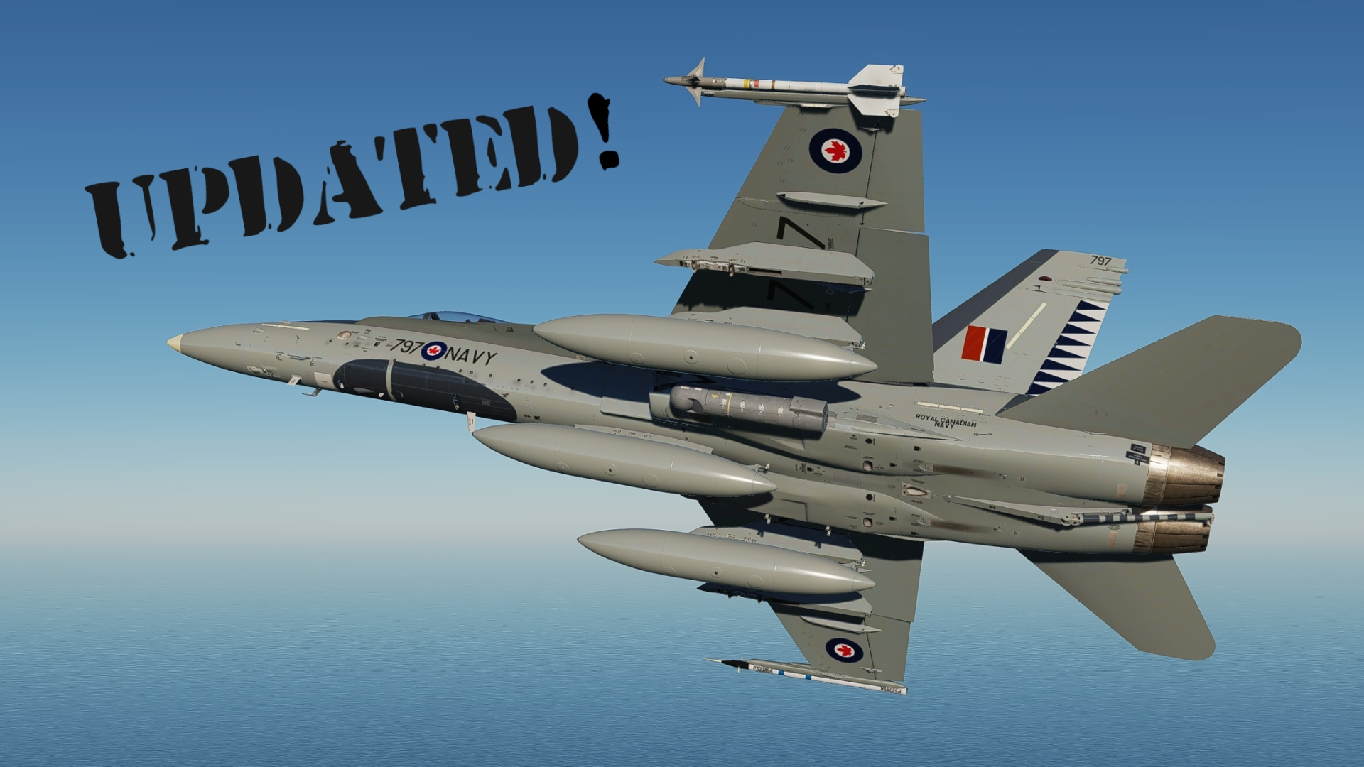 Royal Canadian Navy CF-18