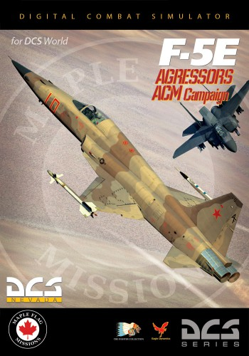 Кампания F-5E Aggressors Air Combat Maneuver