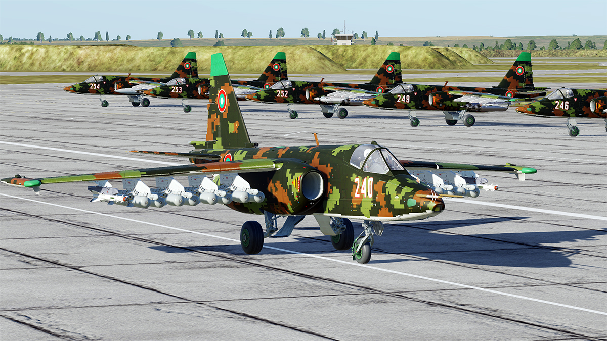 Su-25 Bulgarian Air Force Digital Camo pack
