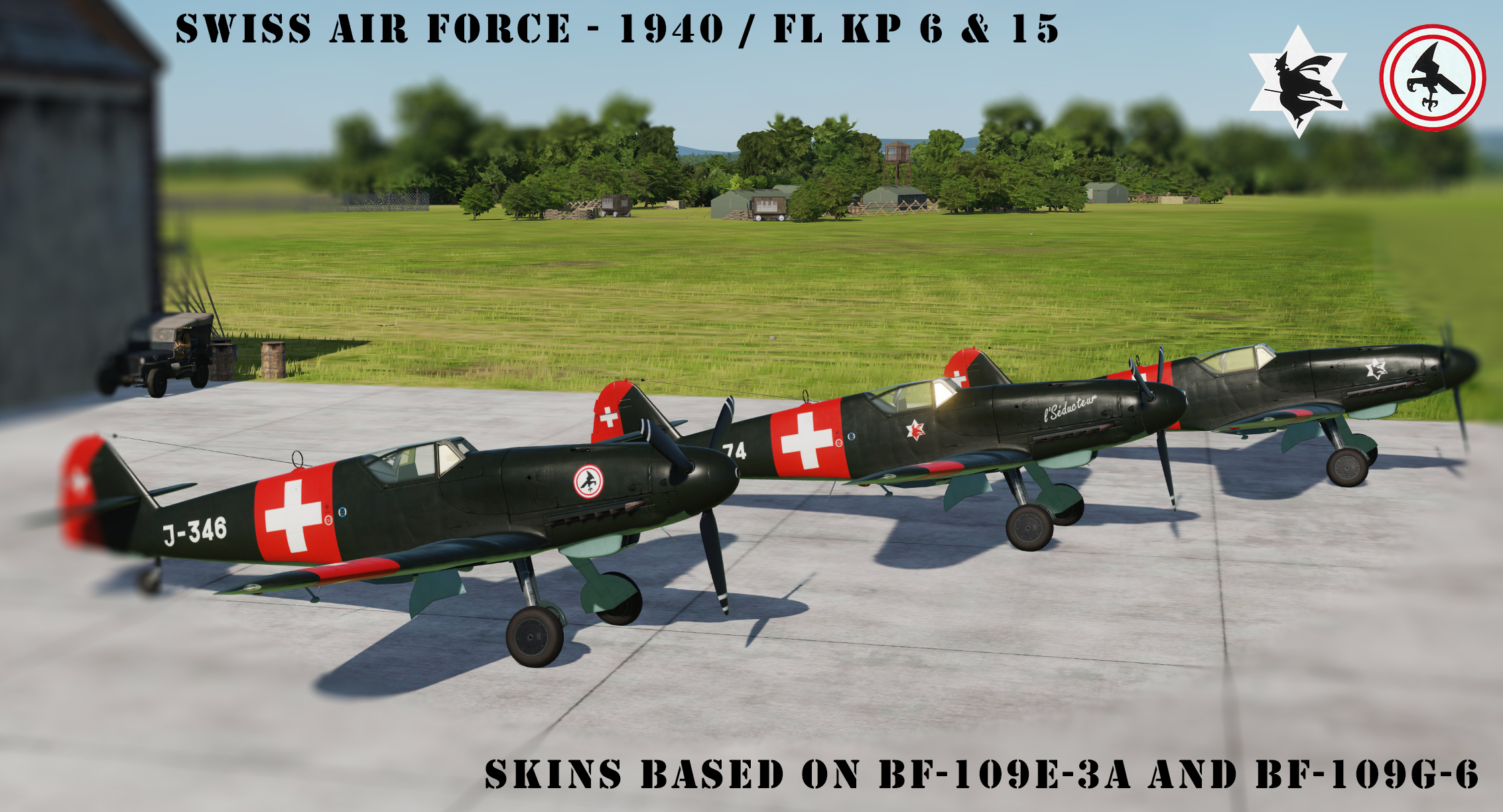 [Bf-109K-4] Swiss Air Force 1940 - Fl Kp 6 & 15
