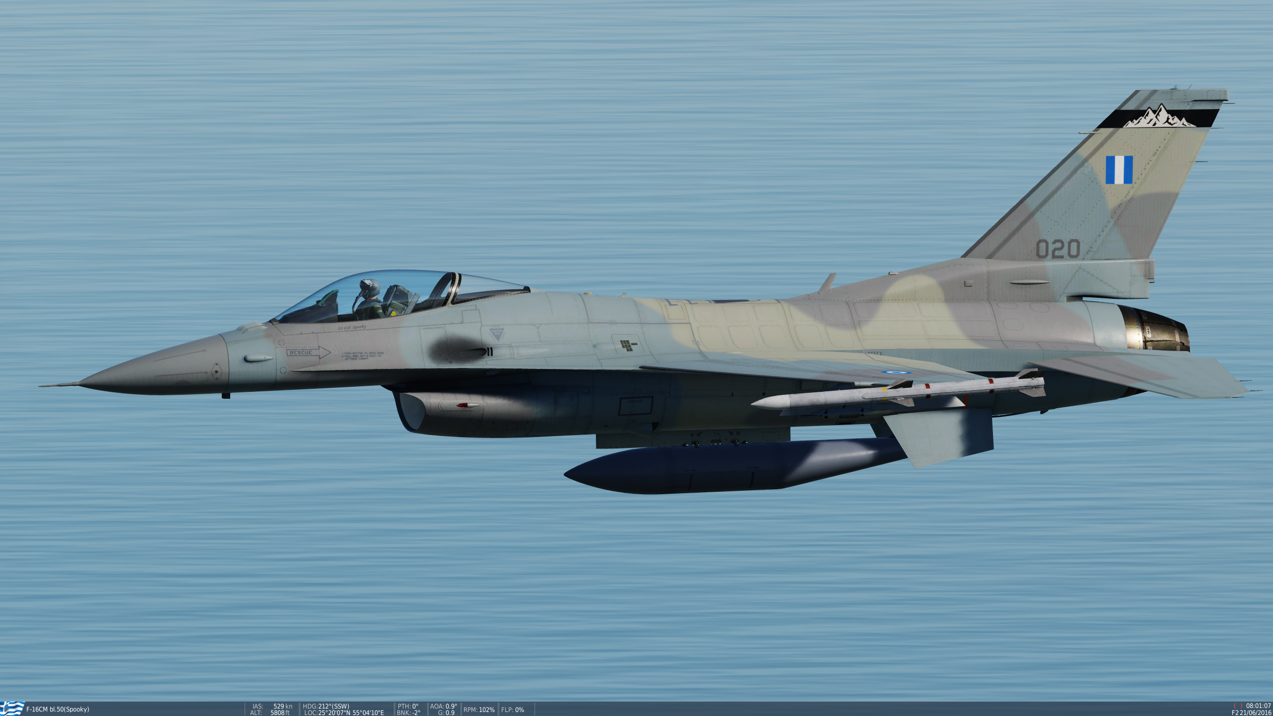 Hellenic Air Force F-16C 336 SQN OLYMPOS