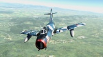 "Окраска для Миг-15БИС ""голубой камуфляж"" 