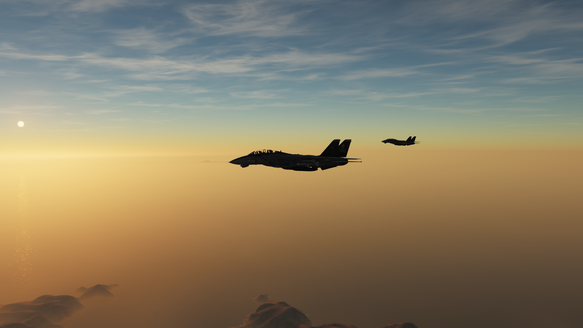 Early Morning Patrol - F-14B Tomcat (beginner, no mods)