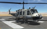 UH-1H Huey - FAMET Virtual - Spanish Desert Camo (Fictional)