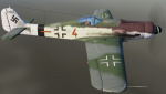 "FW-190D9 ""Brown 4"" of VII/JG26"
