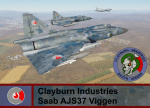 Clayburn Industries Security Forces, AJS-37 Viggen - Armored Warfare (CI DA)