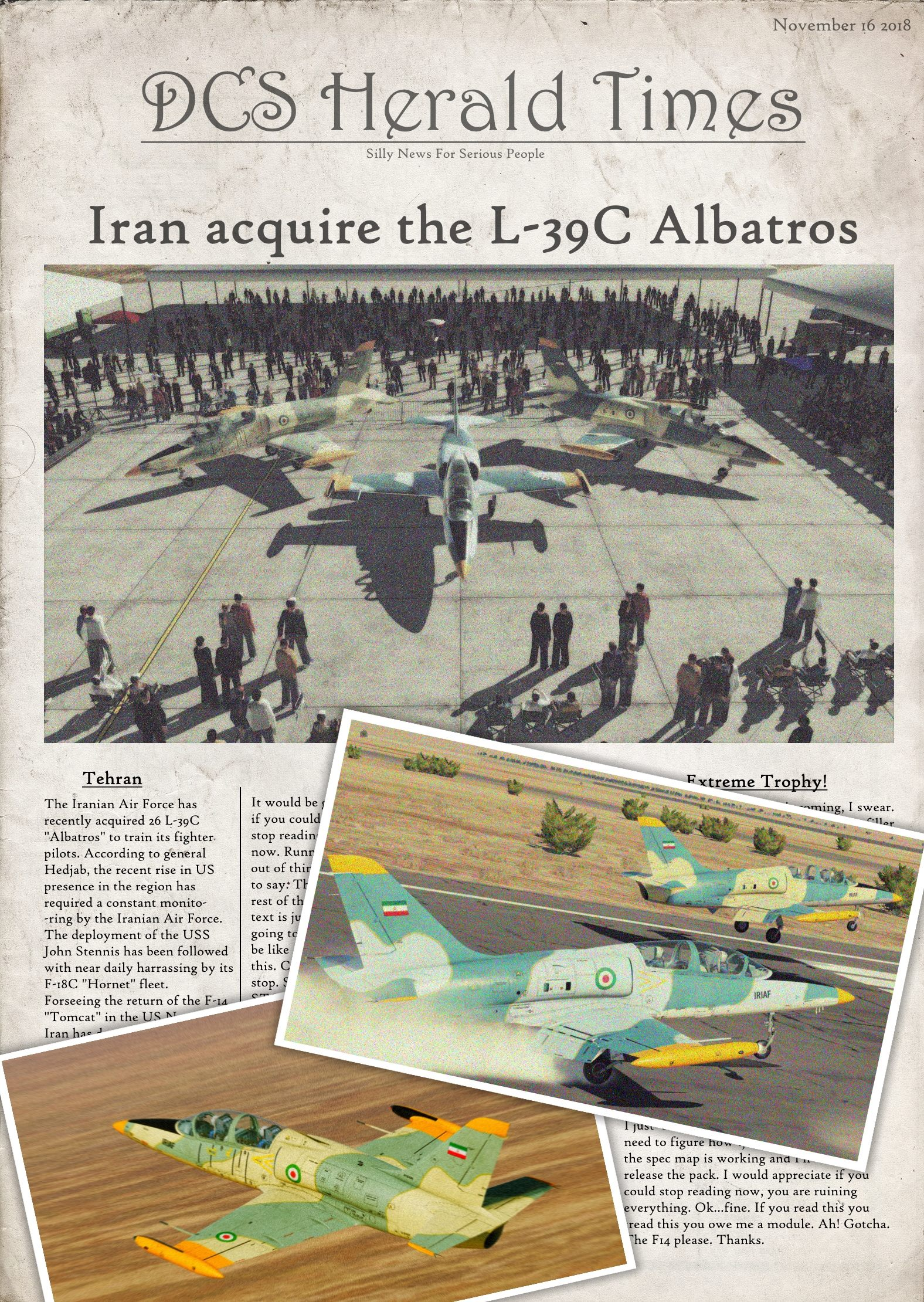 IRIAF L-39C Liveries