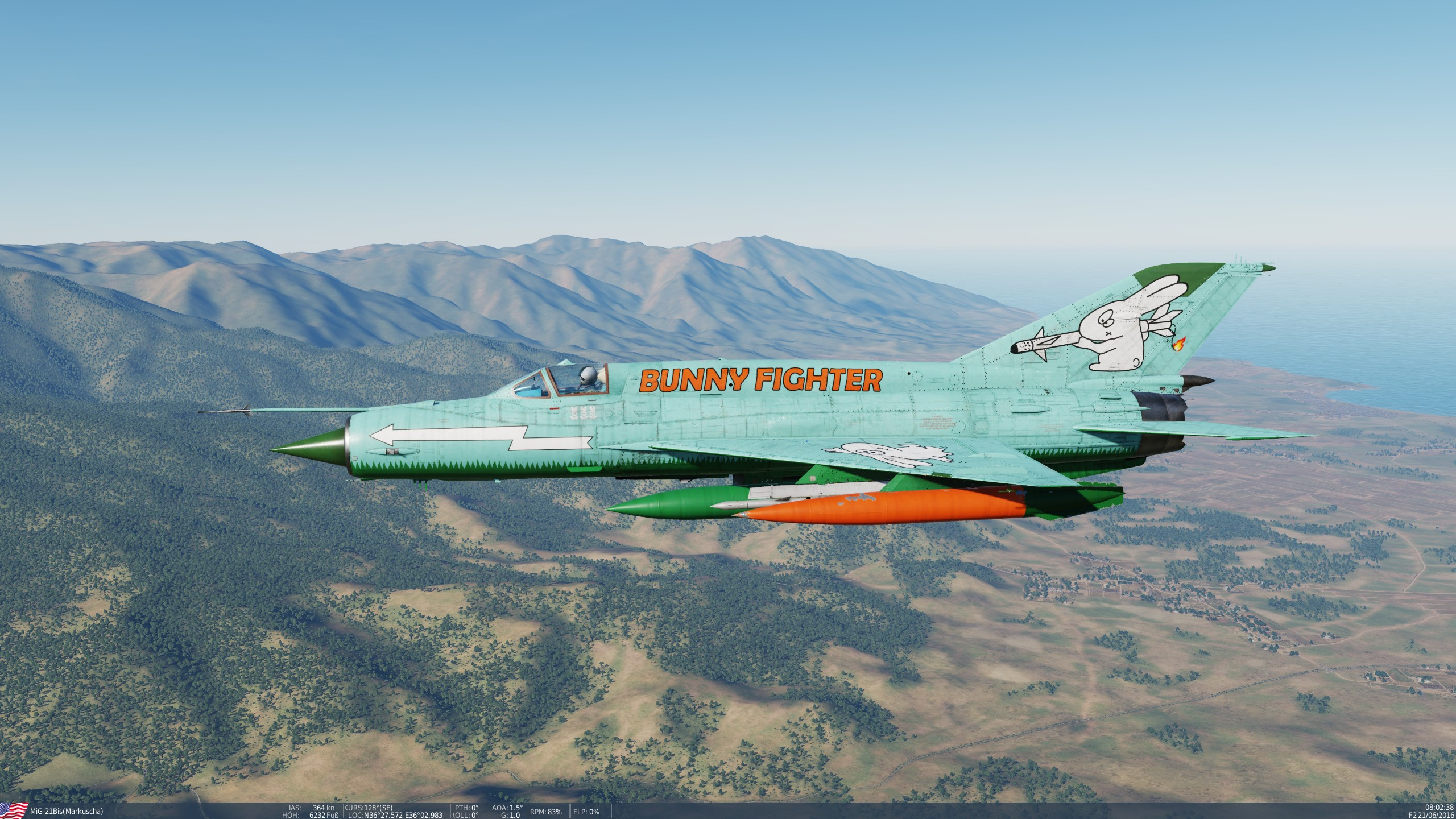 Bunny Fighter   ( DCS 2.5 )
