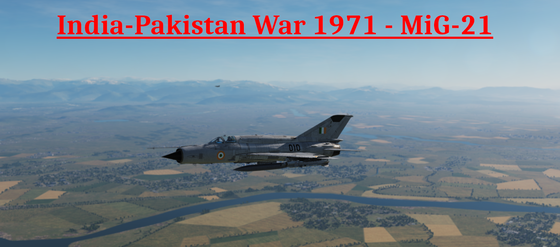 India-Pakistan War 1971 - MiG-21 Campaign STABLE released DCS World version
