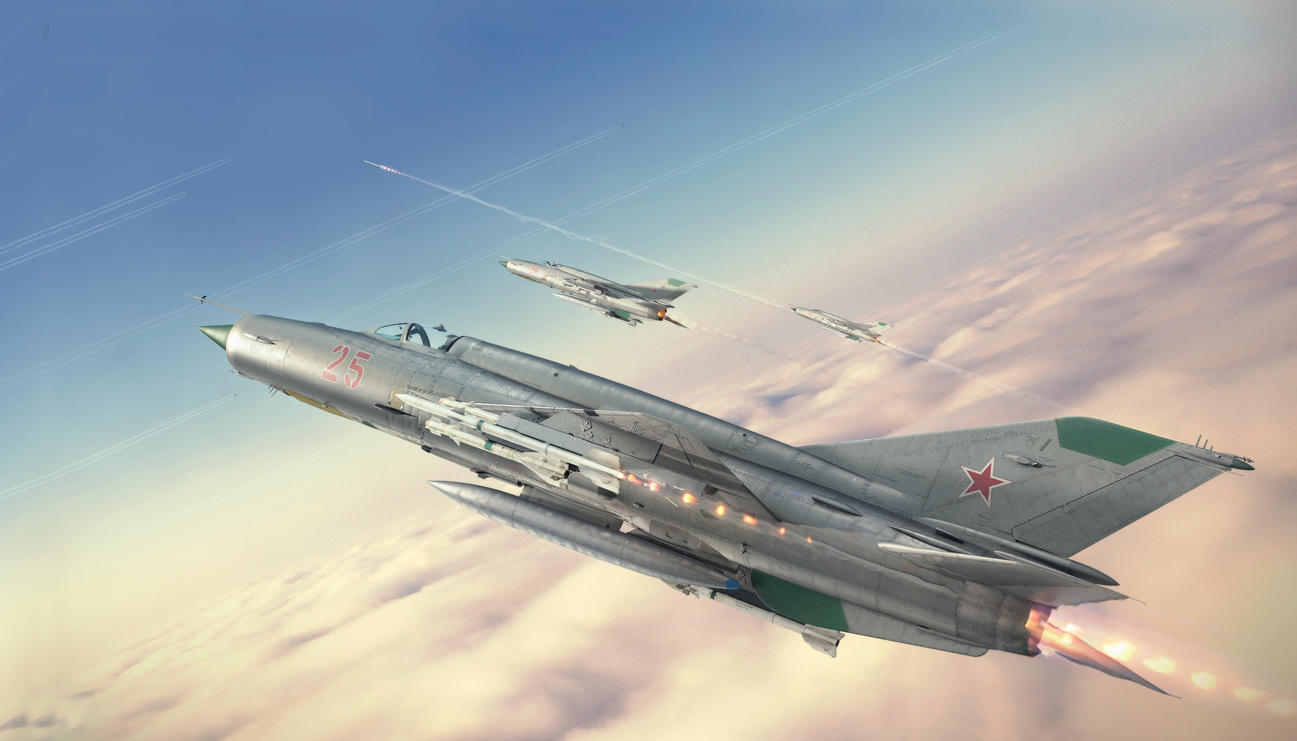 MiG-21 Menu Music - Soviet Anthem (Rock Version)