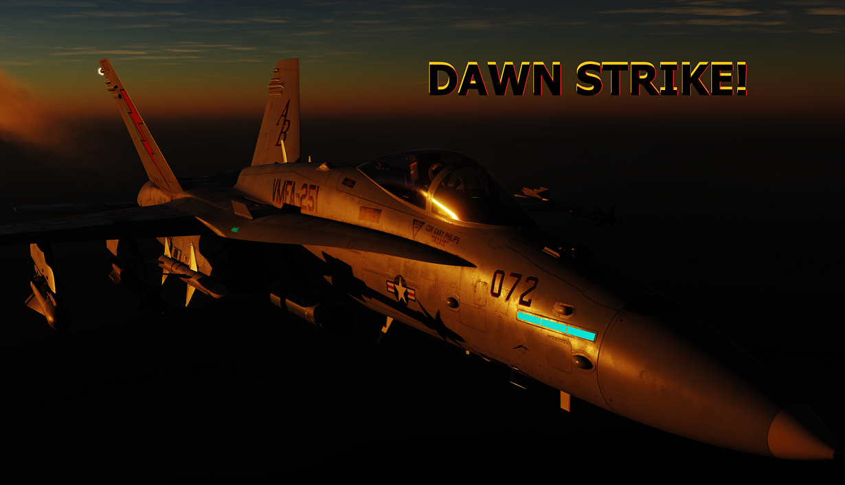 Operation: DAWN STRIKE! ( Shore Start ) Voice Triggers & no Mods needed