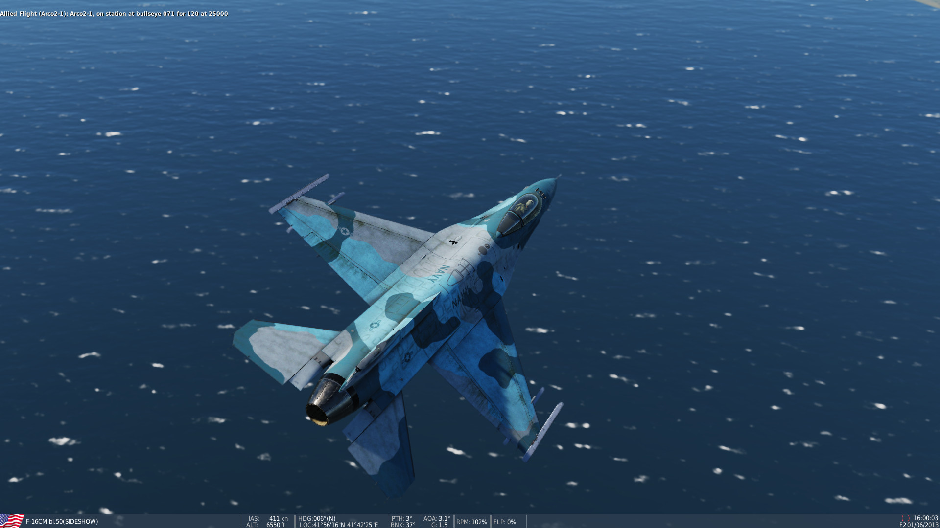 Navy NSAWC F-16 # 55 *Version 2*