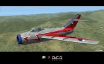 MiG-15bis 11.slp Žatec No.3901 display camouflage