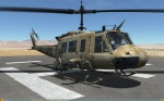 UH-1H Huey - No Markings - Octocamo Desert TCHCM (Fictional)