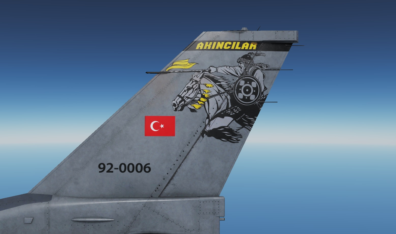 Turkish Air Force - Akıncılar 152.Filo - Livery - V 1.8 - by AngrybirdTR