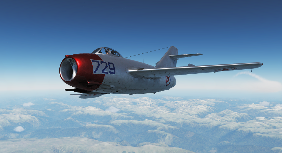 MiG-15bis Skin Captain S.M. Kramarenko, 176th GvIAP