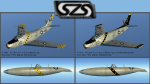 F-86F VF-84 Fury FJ-3 Mock Up Liveries 2 Pack - OLD