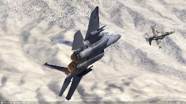 DCS Nevada Map Screenshot Contest Winners. 1st Place: f-18hornet