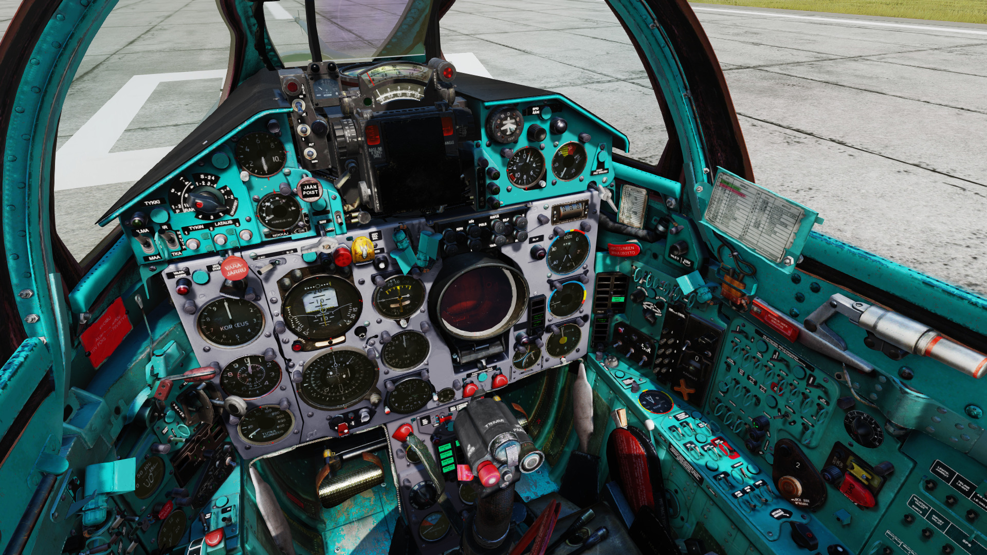 Finnish Air Force MiG-21 Cockpit (Fictional-kind-of)