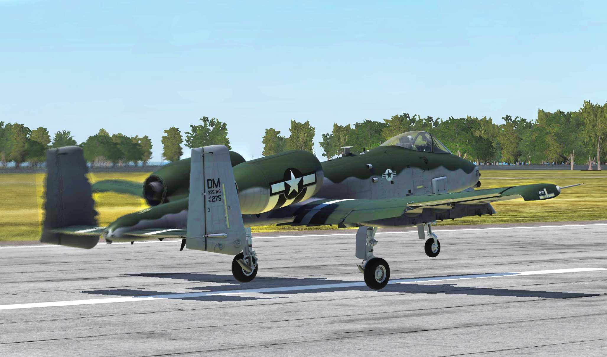 A-10C Demo Team/Mustang Tribute Livery