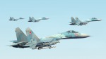 Su-27SM3 3rd Mixed Aviation Regiment (Krymsk AB)