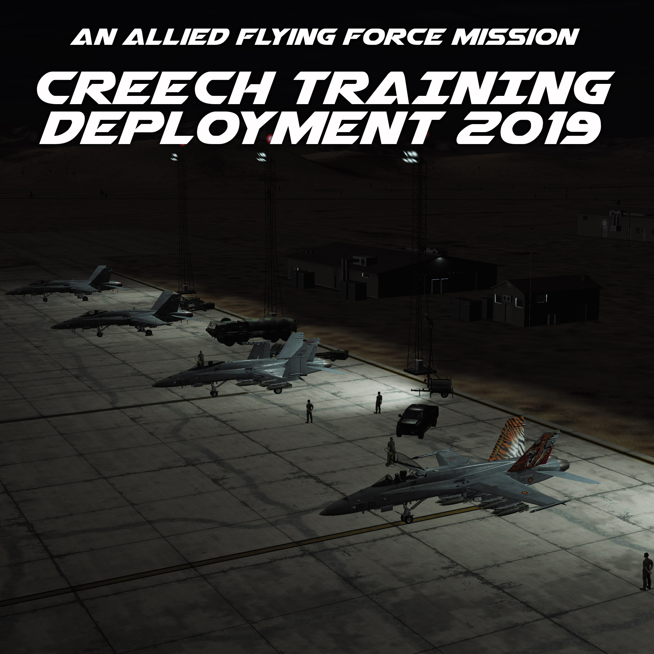 CREECH TRAINING DEPLOYMENT 2019