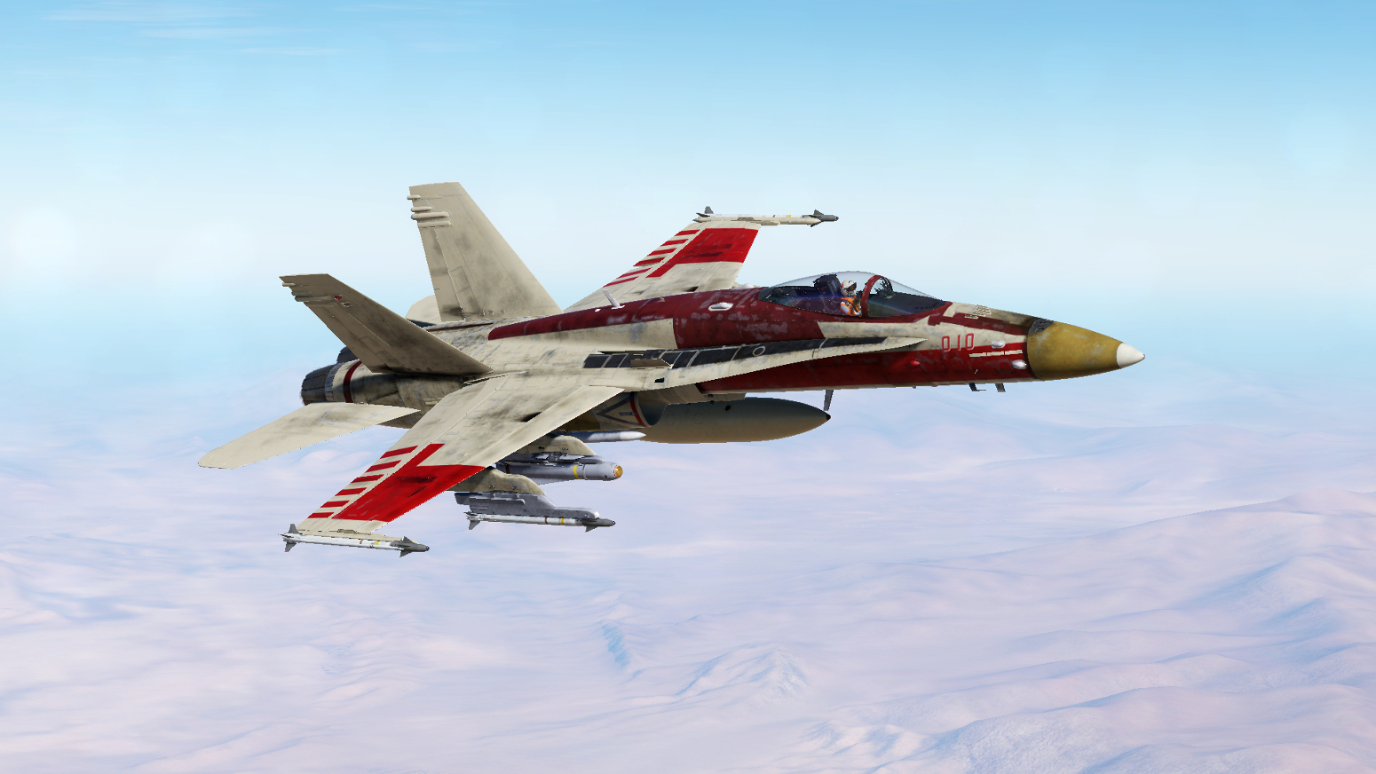 F/A-18C Fictional Livery - Red 6 - Jek Porkins