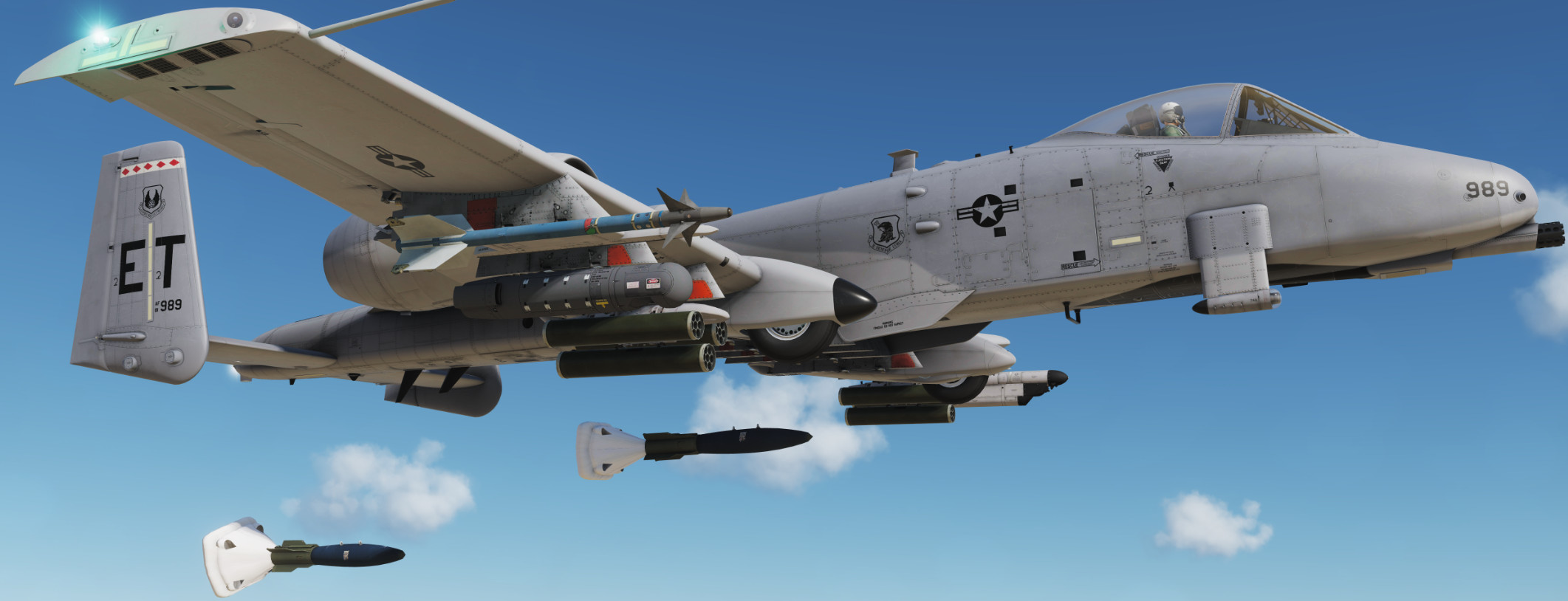 A-10C. Alcohol based fuel testbed, Eglin AFB 2012.
