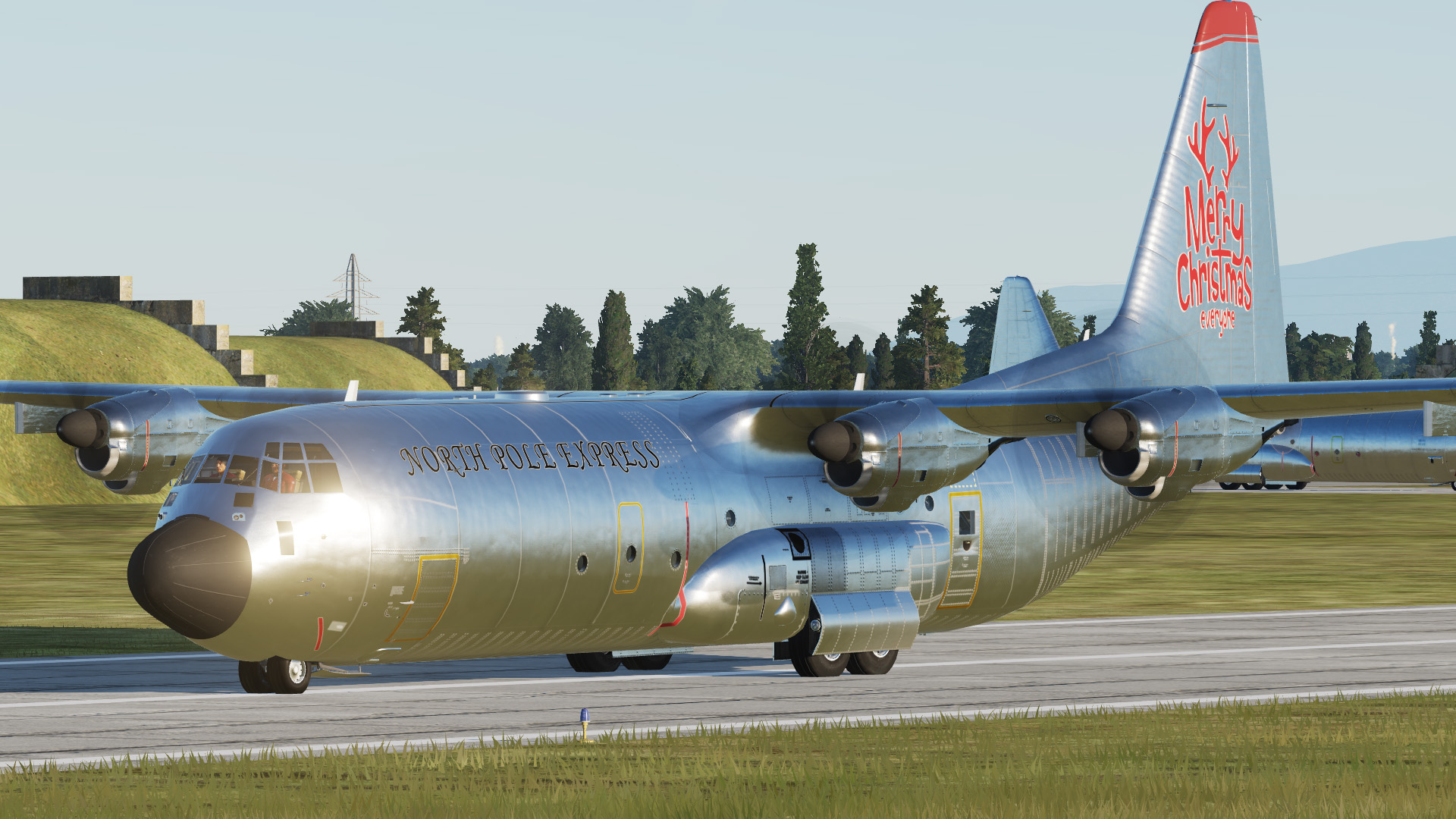 C-130J-30 North Pole Express - HiRes Texturepack