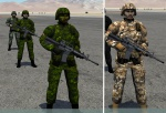 DCS 1.5 Canadian Forces Infantry troops