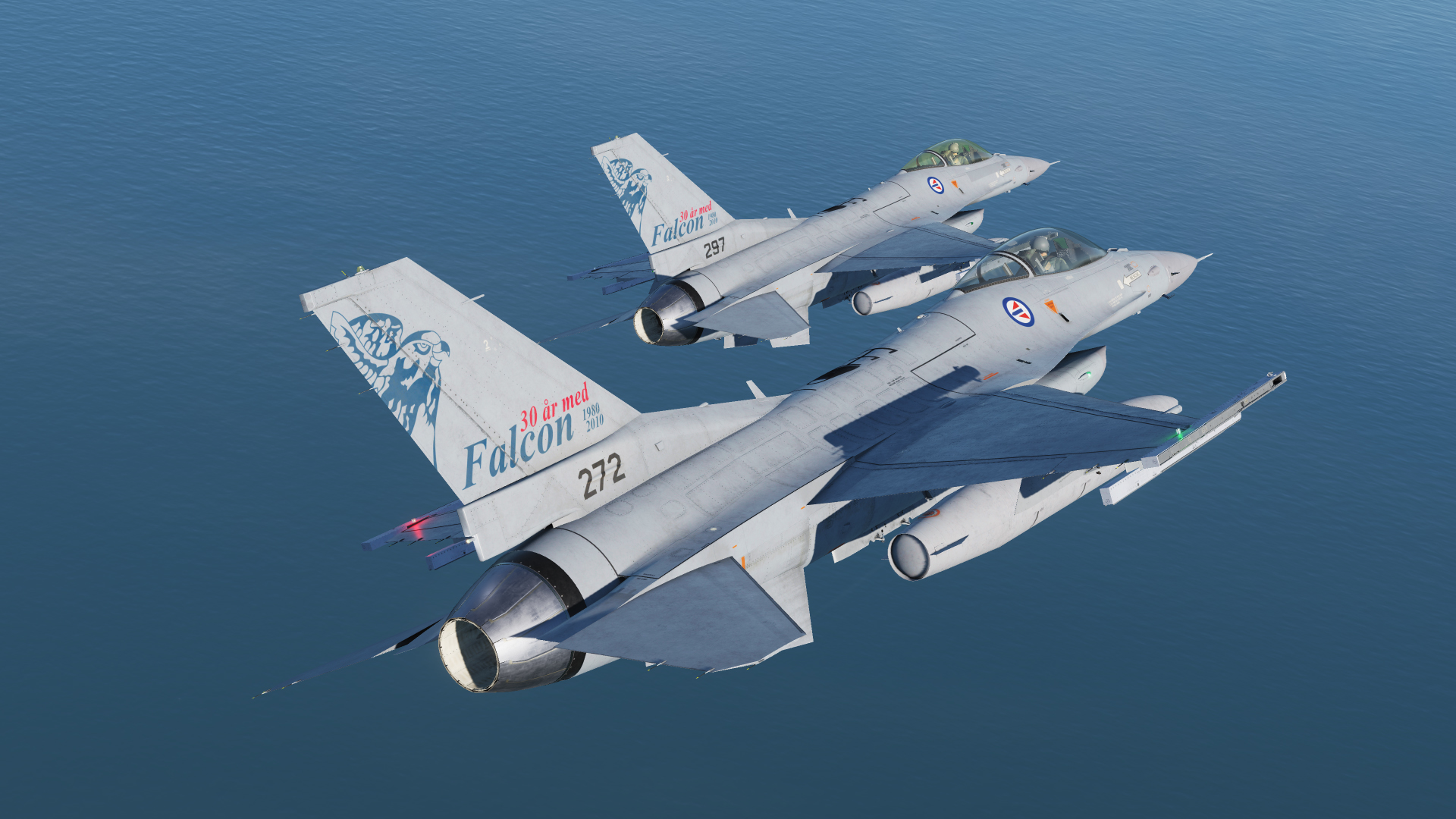 F-16C - RNoAF - 30 Years of Falcon