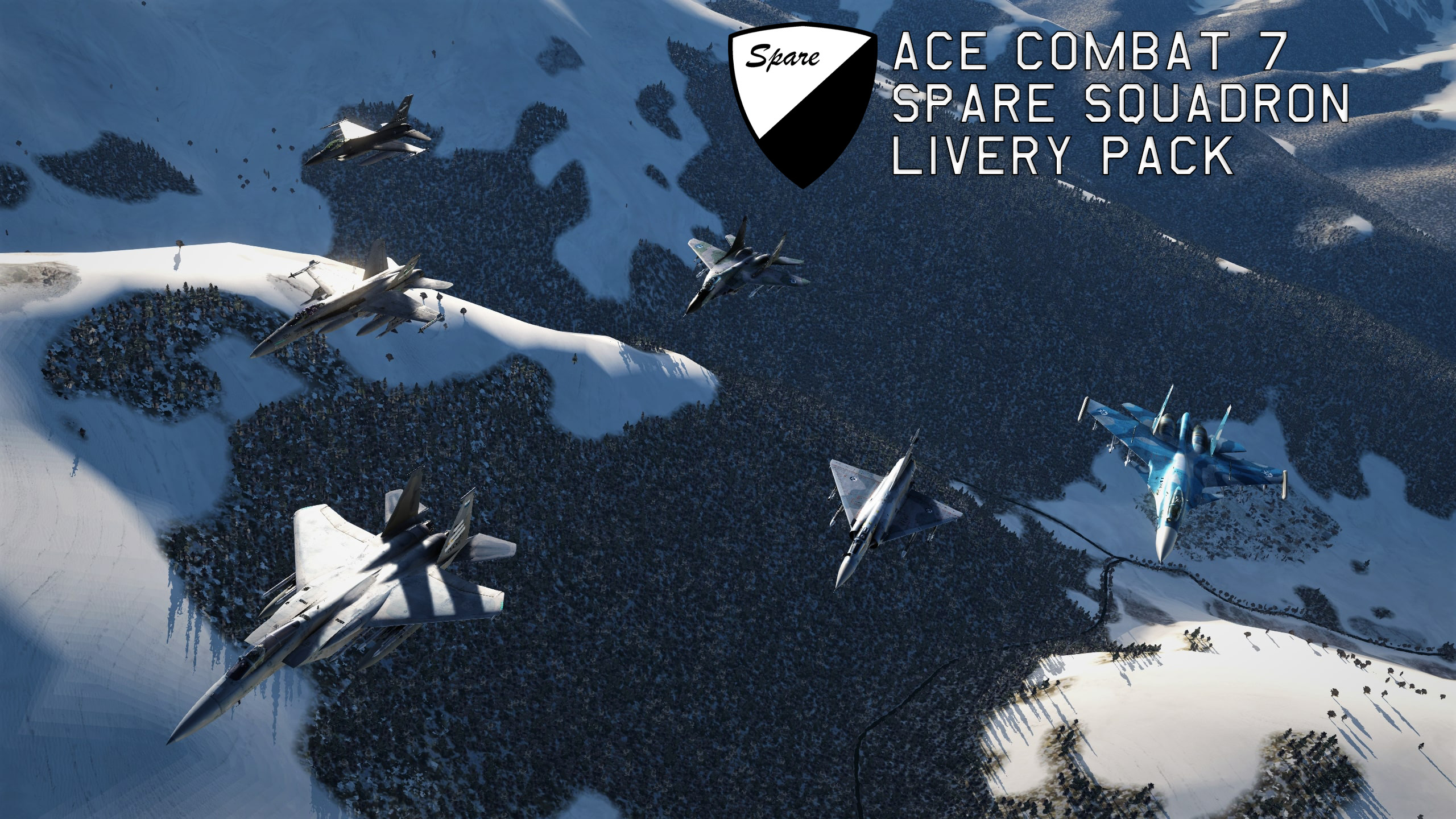 Ace Combat 7- Spare Squadron Livery Pack V1.4