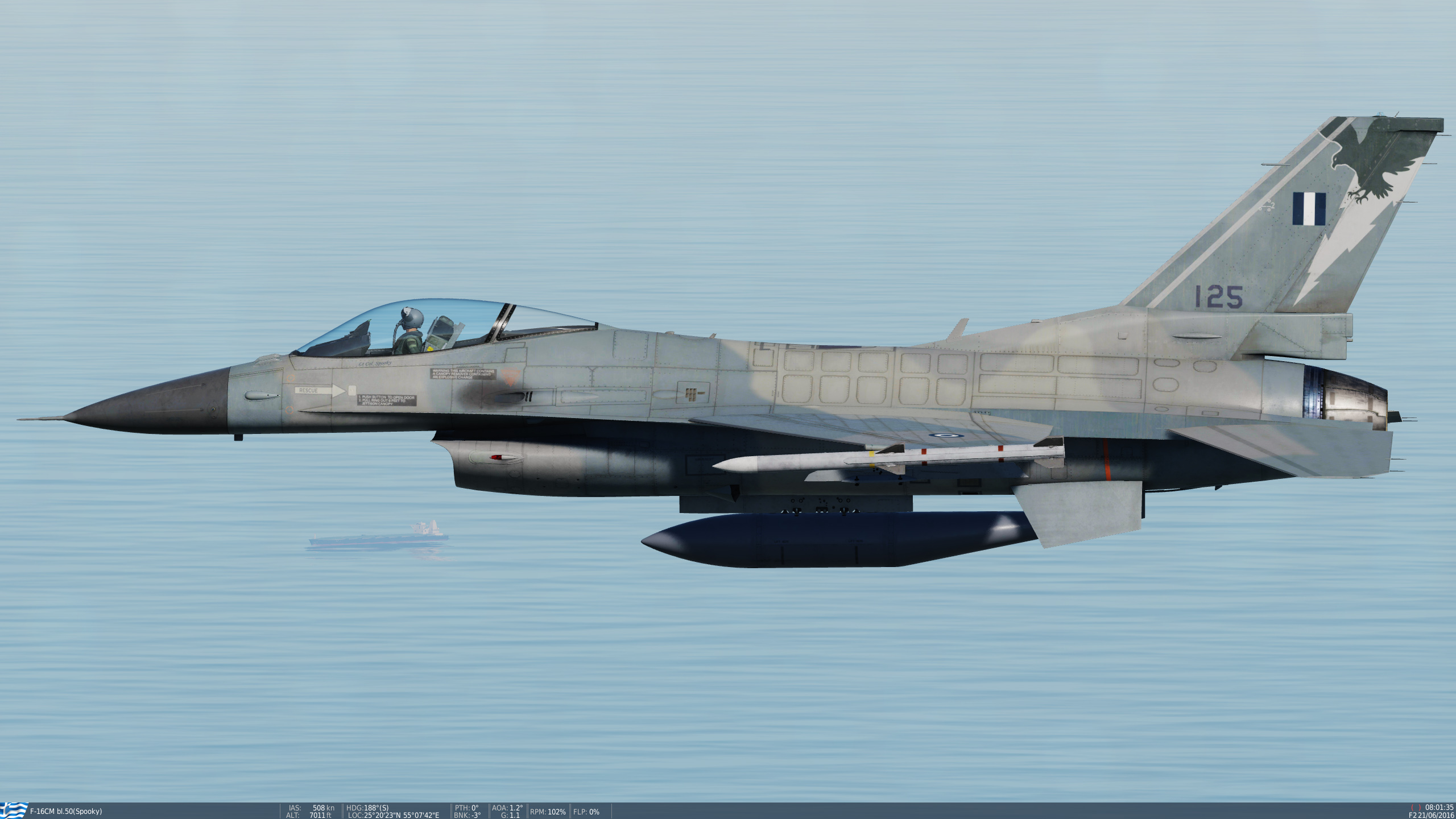 Hellenic Air Force F-16C (blk30)  330 SQN KERAVNOS **UPDATED**