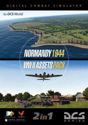 Normandy 1944 Map + WWII Assets Pack