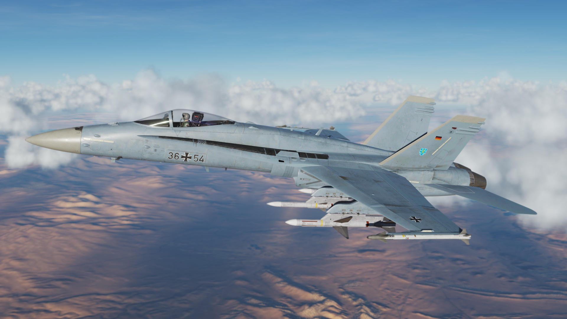 German Air Force F/A-18C Skin TaktLwG 73 Steinhoff (fictional)