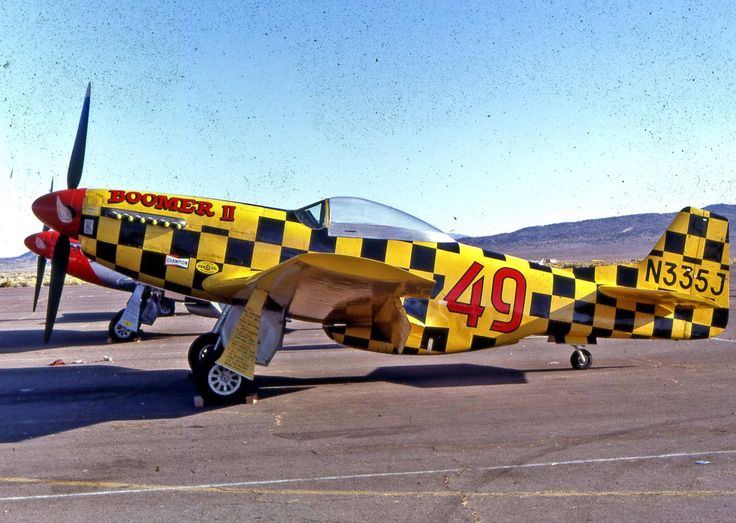 No 49 Boomer II Reno Air Racer