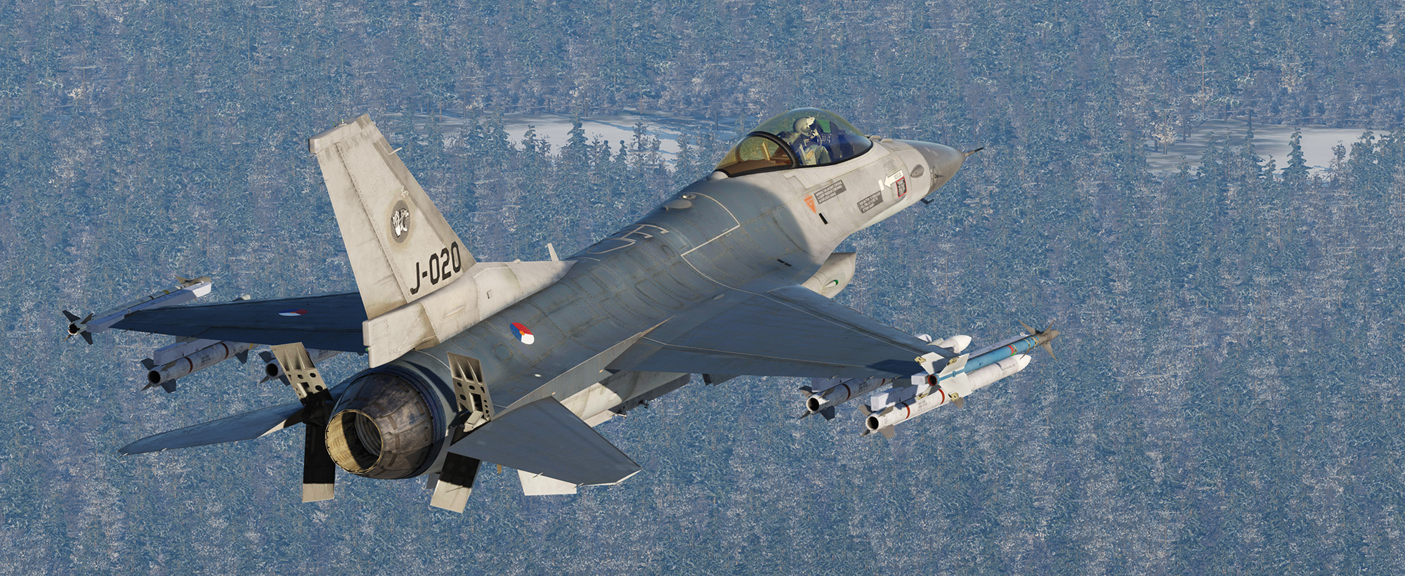 Dutch F-16 313SQ by Mispunt - V0.5