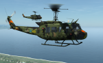 HKP 3 Swedish Army Skin for the Huey *UPDATED